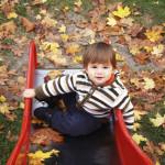 Kid-on-Slide